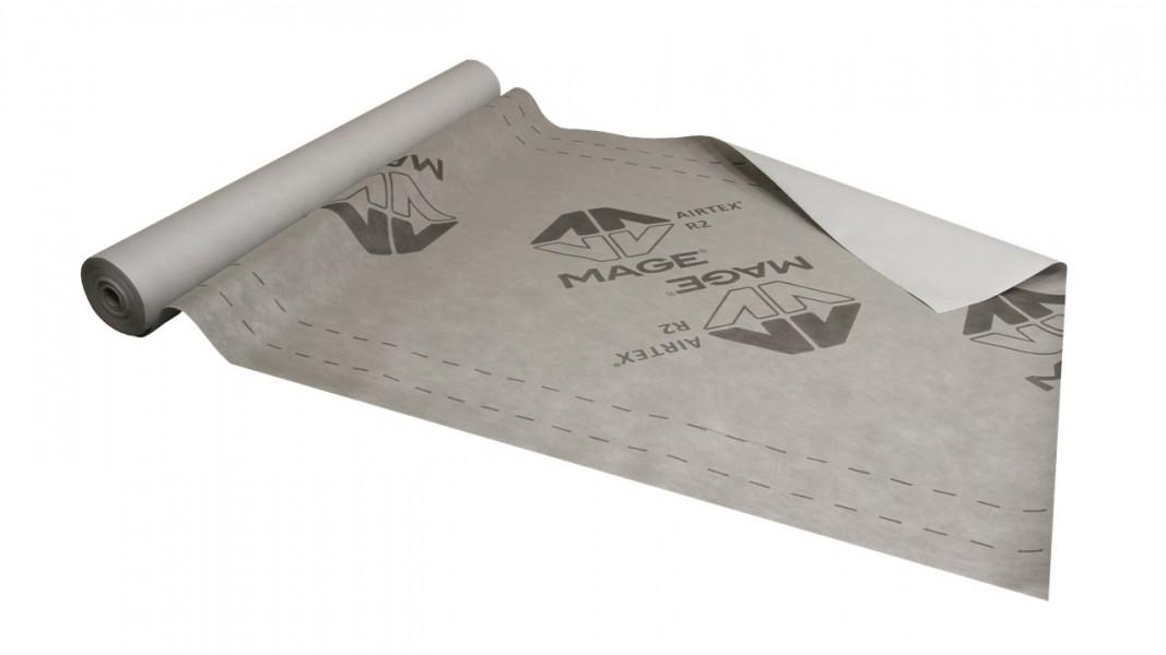 Photo 1 Ecran souple de sous-toiture HPV ou pare-pluie vertical pour une meilleure protection thermique et des économies d'énergie. Rouleau de 50 m x 1,50 m = 75 m2. Produit certifié par le CSTB et qui répond parfaitement aux exigences des DTU de la série 40, DTU 31.2 et DTU 41.2 - MAGE FRANCE