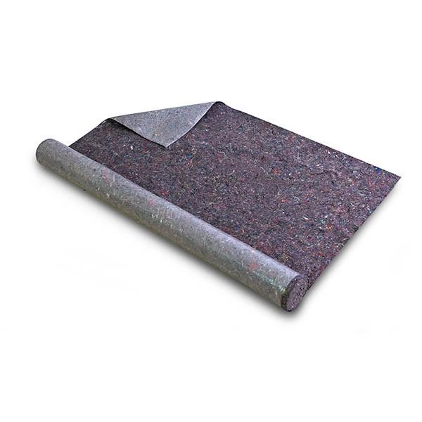 Photo 2 Revêtement en tissu pour protéger le sol et toutes sortes de surfaces contre la saleté et les dommages pendant le traitement des enduits et peintures pour une utilisation en intérieur et extérieur. 24 rouleaux par palette. - Baukom