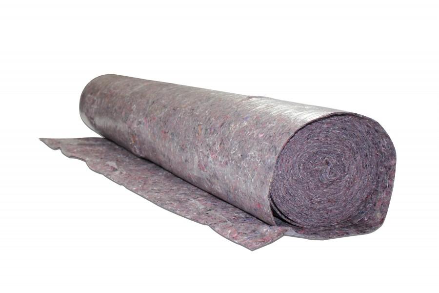 Photo 1 Revêtement en tissu pour protéger le sol et toutes sortes de surfaces contre la saleté et les dommages pendant le traitement des enduits et peintures pour une utilisation en intérieur et extérieur. 24 rouleaux par palette. - Baukom