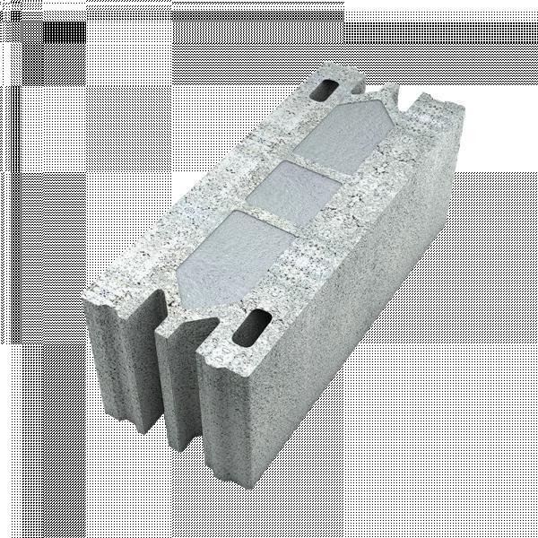 Photo 1 Deux fois plus isolant qu'un bloc béton traditionnel, le bloc Fabtherm® Air 0.6 est le seul bloc isolant 100% minéral à poser maçonner.  R = 0.58 m².K/W R = 0.51 m².K/W - Fabtherm®