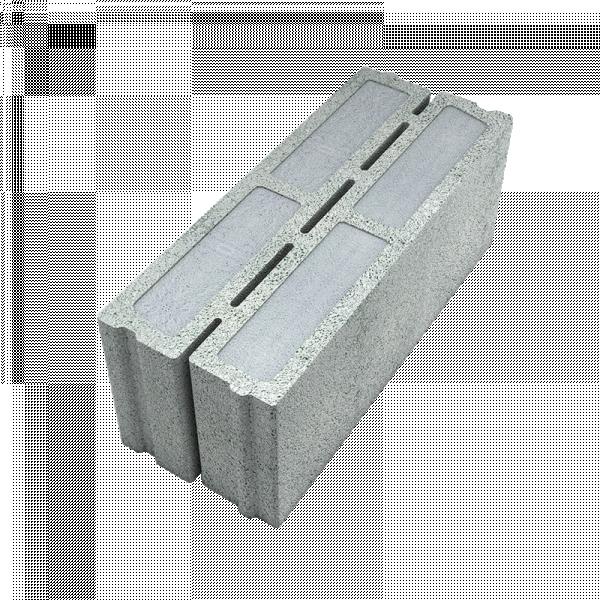 Photo 1 Cinq fois plus isolant qu'un bloc béton traditionnel, le bloc isolant Fabtherm® Air 1.1 conjugue à la fois les performances thermiques, mécaniques, tenue au feu, acoustiques et environnementales attendues sur les systèmes constructifs de logements collectifs.  R = 1.12 m².K/W  Bloc sous Avis Technique N°16/19-773_V1 - Fabtherm®
