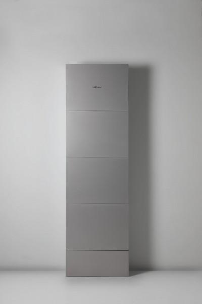 Photo 1 Le chauffe-eau électrique intelligent (CEI) est un produit innovant et unique sur le marché de la production d'ECS. 3 modèles allant de 120 à 320 litres pour des foyers de 1 à 5 personnes (et+). Connecté, pilotable via smartphone. Avec les cuves en inox Viessmann, il n'y a qu'un seul  matériel au contact de l'eau = pas de transfert de métaux lourds. La température de chauffe homogène qui évite la  formation de calcaire, augmente durée de vie des cuves et une eau de meilleure qualité. - Viessmann France