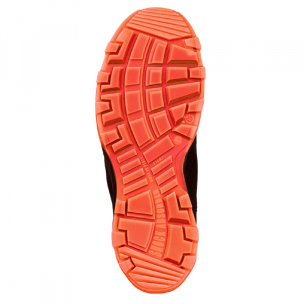 Photo 4 Largement inspirés du monde du running et du trail, on pourrait croire qu'il s'agit de baskets ! Pourtant, les chaussures de sécurité RUN-R 300 sont idéales pour les plaquistes et entreprises d'isolation, les transformateurs de bois, les charpentiers ou les menuisiers.  Éléments de protection 100% non métalliques, semelle PU2D légère et antidérapante, tige en cuir nubuck huilé et semelle de propreté premium, les chaussures de sécurité RUN-R offrent légèreté, respirabilité et confort. - Heckel