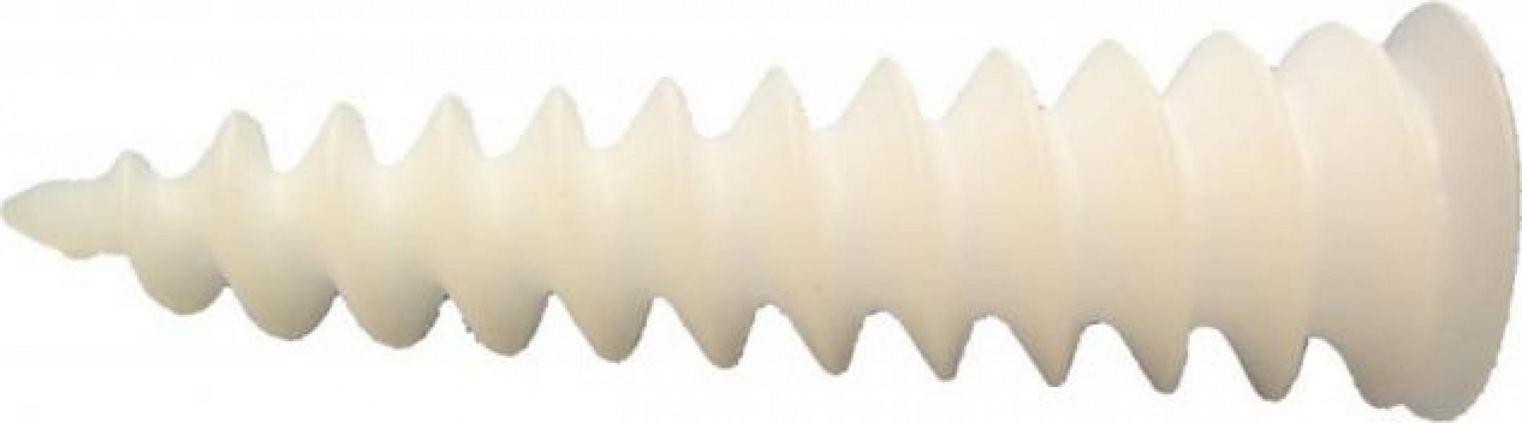 Photo 1 Convient pour les isolants rigides, pour la laine de roche et pour la mousse polyuréthanne en particulier pour les systèmes ITE.  Est adaptée pour la fixation de luminaires d'extérieur, sonnettes, numéros de maison, boites aux lettres et journaux, détecteurs de mouvement, panneaux et pour les descentes de gouttières. - Baukom