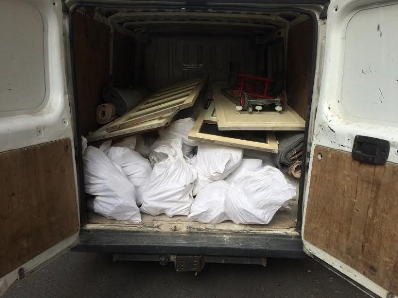 Photo 1 Nous collectons sur chantier (sacs à gravats et Vrac) à partir de 5 sacs et jusqu'à 500. - Ecodrop