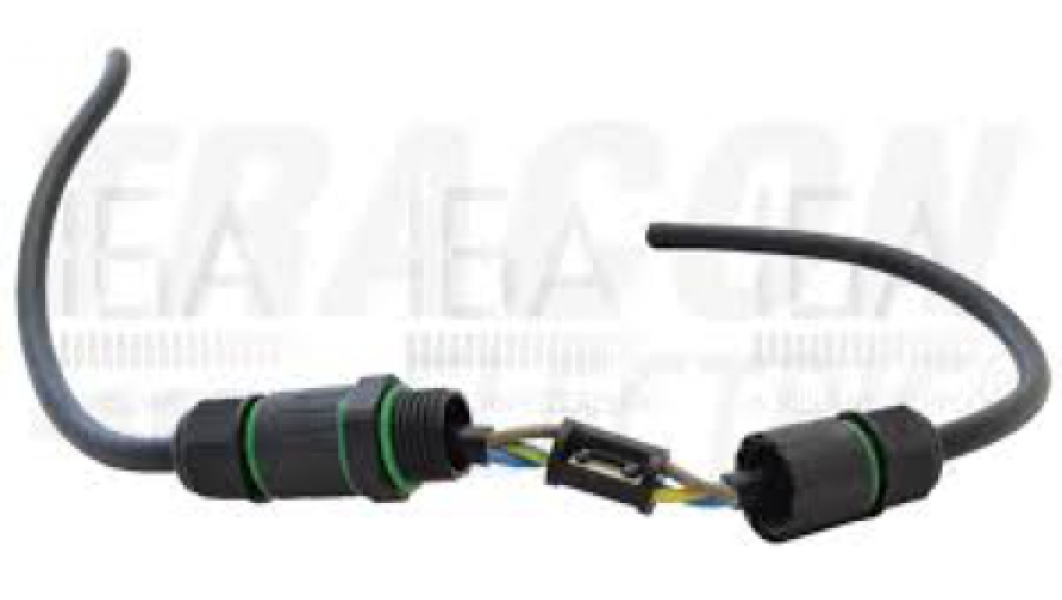 Photo 2 Connecteur de câble avec presse étoupe type PG9. IP65 - INOVPROJECT