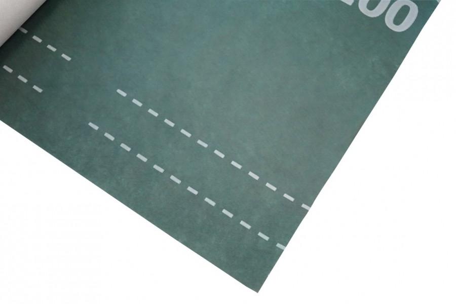 Photo 3 Le MULTIVAP® 200 sous certification QB du CSTB peut être mis au contact ou non de l'isolant, sur voliges, sur chevrons et sur les éléments de Sarking. Respirant, il se fixe sur des chevrons espacés de 60 cm. Se pose fermé au faîtage.  Grammage : 140 g/m² Résistance traction : 290/200 N Résistance clous : 150/180 N Valeur Sd : 0,02 m - UBBINK FRANCE