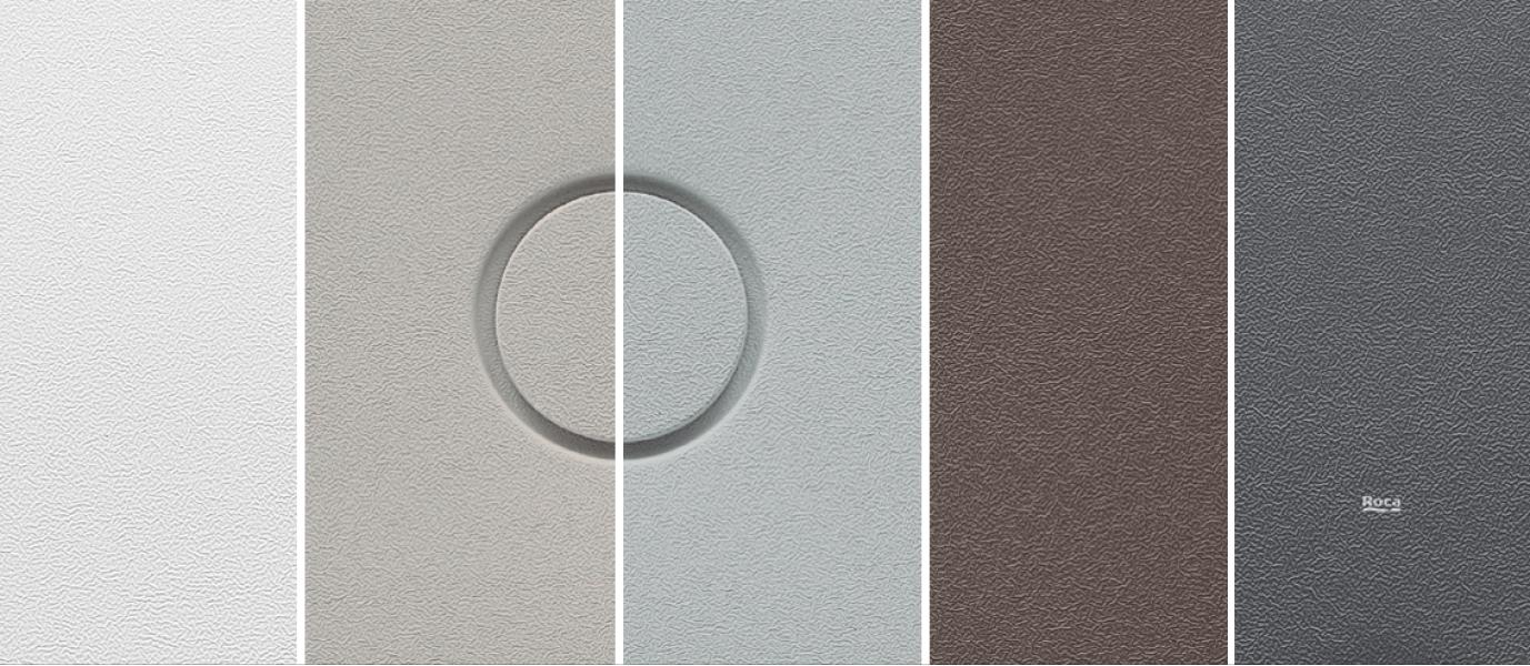 Photo 4 Receveur extra-plat en Senceramic® avec fond texturé, très haute résistance à la glissance (PN 24). Vidage Ø90 mm 12L/min inclus (A27L053..0) - ROCA