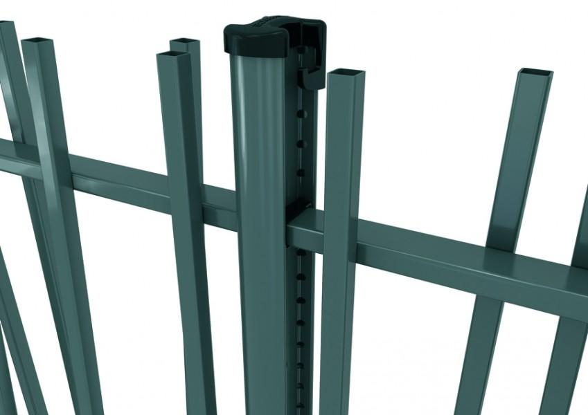Photo 4 CreaZen® est un système de clôture barreaudée complet au design attractif, inspiré des éléments naturels. Atouts : - Élégant - Design épuré et moderne - Installation facile - BETAFENCE FRANCE