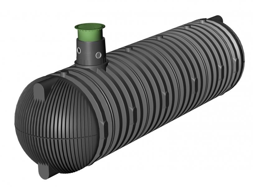 Photo 2 Spécialement conçues pour la récupération des eaux pluviales. Les cuves à enterrer Carat sont disponibles de 8 500 à 122 000 L. La cuve Carat est étudiée dans le moindre détail pour une installation et une utilisation aisées. Le dôme pivotant à 360° facilite son raccordement. Elle peut être équipée d'un filtre intégré qui garantit une excellente qualité de l'eau récupérée. Les rehausses télescopiques permettent un ajustement au millimètre avec la surface du terrain. Garantie 30 ans. - GRAF