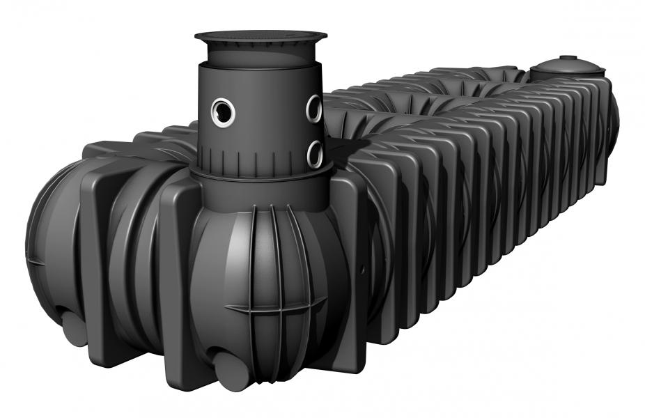 Photo 2 Spécialement conçues pour la récupération des eaux pluviales. Les cuves à enterrer extra-plates Platine XL/XXL sont disponibles de 10 000 à 65 000 L. Grâce à sa faible hauteur, la cuve Platine est particulièrement facile et économique à installer. Elle s'adapte à toutes les contraintes (passage véhicules, pose dans la nappe phréatique). Nombreux accessoires disponibles pour une installation complète : rehausse télescopique ajustable en hauteur et inclinable, filtration intégrée… Garantie 30 ans. - GRAF
