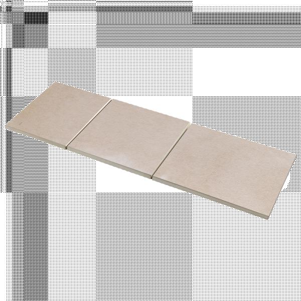 Photo 1 Le dallage Espace en béton design est un produit d'entrée de gamme, économique. Son aspect de surface est sobre et lumineux, doux au toucher, sa qualité première étant de s'adapter à tous les types de réalisations. Existe en dalle mono-format 50x50 cm épaisseur 2.5 cm à poser en double encollage sur assise de béton et opus 50 3 formats (50x40/50x50/50x60 cm épaisseur 2.5 cm) à poser en bande. La collection comprend une ligne étendue de margelles profil plat ou galbé pour les tours de piscine. - Raid®