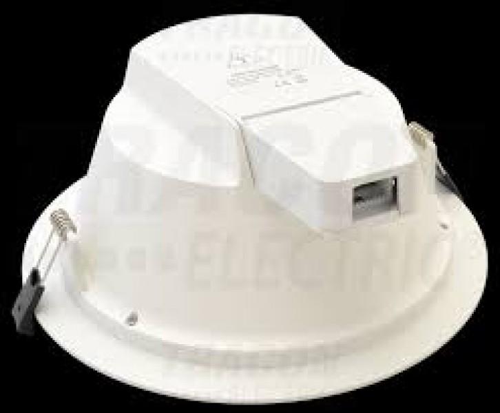 Photo 3 Downlight led à température de couleur variable 3000°, 4000° et 5700°, 25W (équivalent à 2x32w ampoule fluo-compact) Diametre de percement 225mm, HT minimum totale de 98mm. Classé IP54 - INOVPROJECT