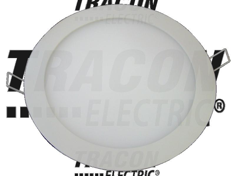 Photo 1 DOWNLIGHT LED ENCASTRABLE  D. 225 1200 LUMEN 4000K 18W EQUIVALENT A 2x26W AMPOULE FLUO COMPACT - INOVPROJECT