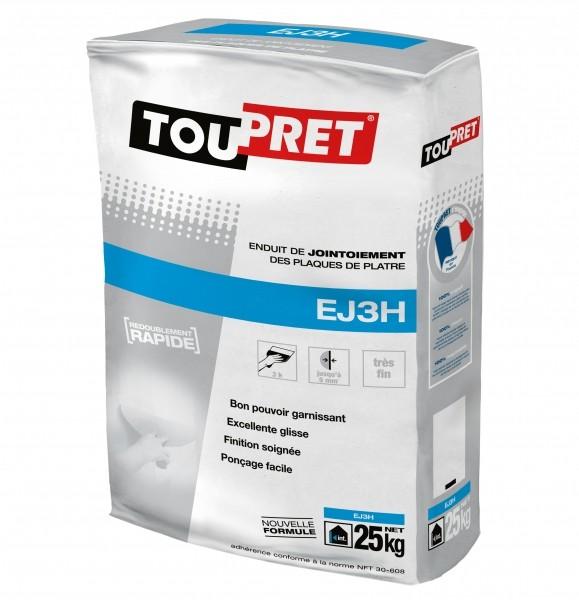 Photo 1 Enduit bande à joints en poudre, intérieur, pour application manuelle - Toupret