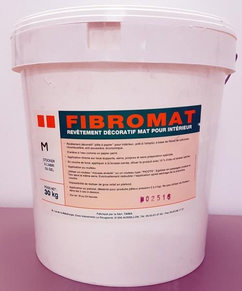 Photo 1 Revêtement décoratif intérieur à base de dispersion acrylique et de fibres de cellulose - TAIMA PEINTURE