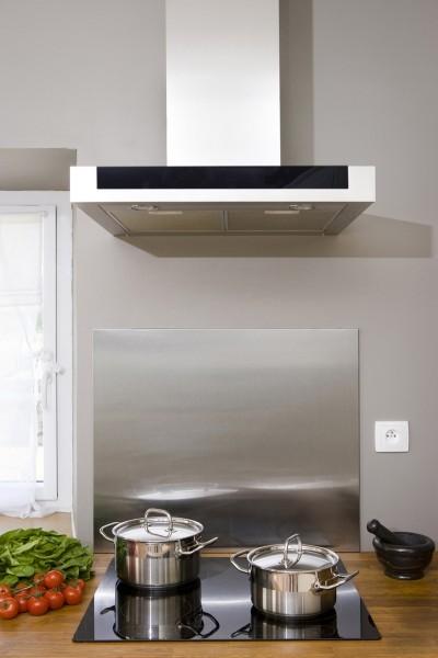 Photo 2 Ce fond de hotte vous permettra de préserver la propreté de vos murs - Nordlinger Pro