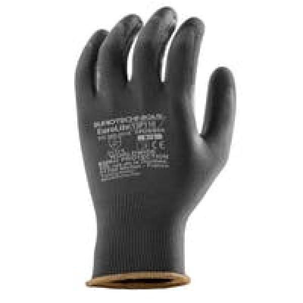 Photo 1 Gant de protection en manutention, enduit en polyuréthane pour une meilleure protection de la main. Son tricot à base de polyester garantie une respirabilité pour la main de l'utilisateur. Son dos aéré procure un confort d'utilisation accru. Ce gant épouse la forme de la main, assurant une meilleure dextérité. Idéal pour les travaux de manutention fine et montage de précision. Recommandé en milieu sec. - COVERGUARD