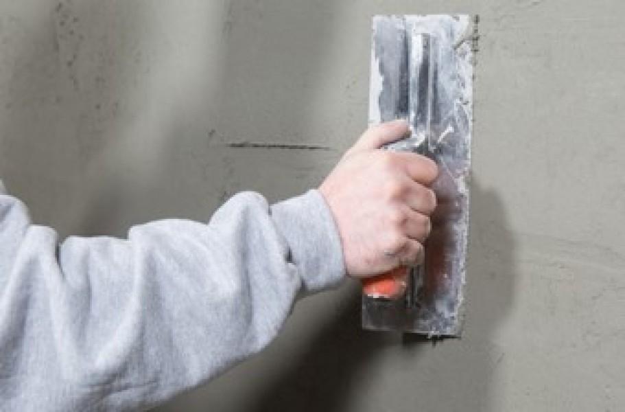 Photo 2 Enduit de rebouchage et de ragréage mural extérieur, finition granitée - Toupret