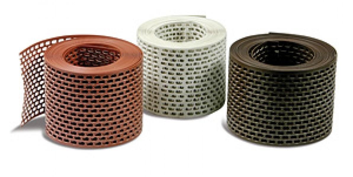 Photo 1 Pour une protection fiable contre l'intrusion de volatiles et autres nuisibles ! Disponibles en Aluminium Réversible ou en PVC. Sur rouleaux de 5 mètres ou dans cartons dévidoirs de 50 mètres. Largeurs : 50 mm, 80 mm & 100 mm (autres largeurs sur demande). Coloris en aluminium réversible : rouge/brun, rouge/noir, rouge/blanc ou naturel. Coloris en PVC : rouge brique, brun foncé, noir ou blanc. - MAGE FRANCE