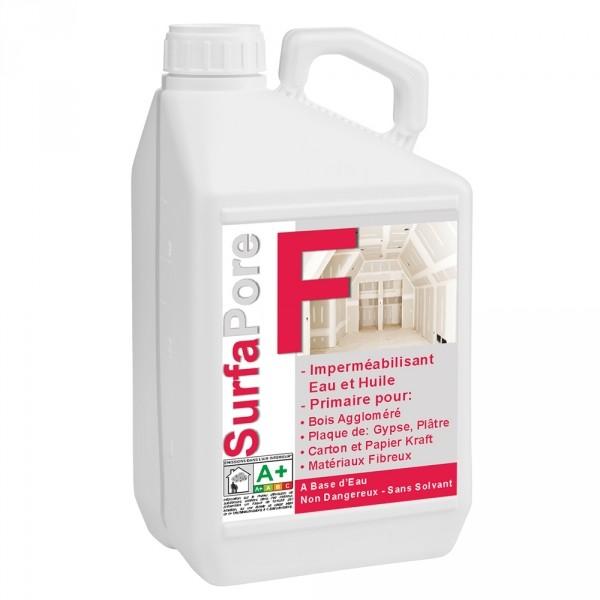 Photo 1 Protection imperméable à l'eau et à l'huile, peut être utilisé comme primaire d'accroche avant mise en peinture, carrelage. A base d'eau, protège le bois aggloméré, le carton, le MDF, le placo-plâtre. Rendement moyen: 8-10 m²/L. - NanoSources