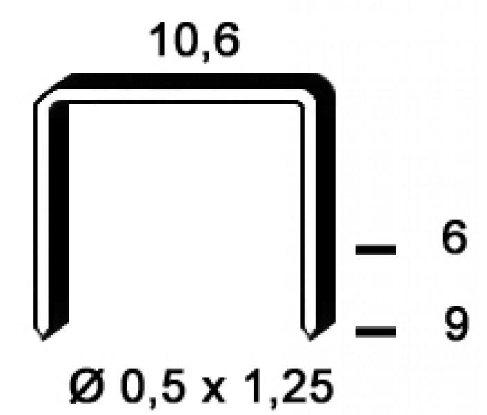 Photo 4 Kit composé d'un marteau agrafeur RPF9 et 35.000 agrafes PF-09 mm (7 boîtes), livré dans un coffret. idéal pour la fixation d'écran sous toiture. - ALSAFIX