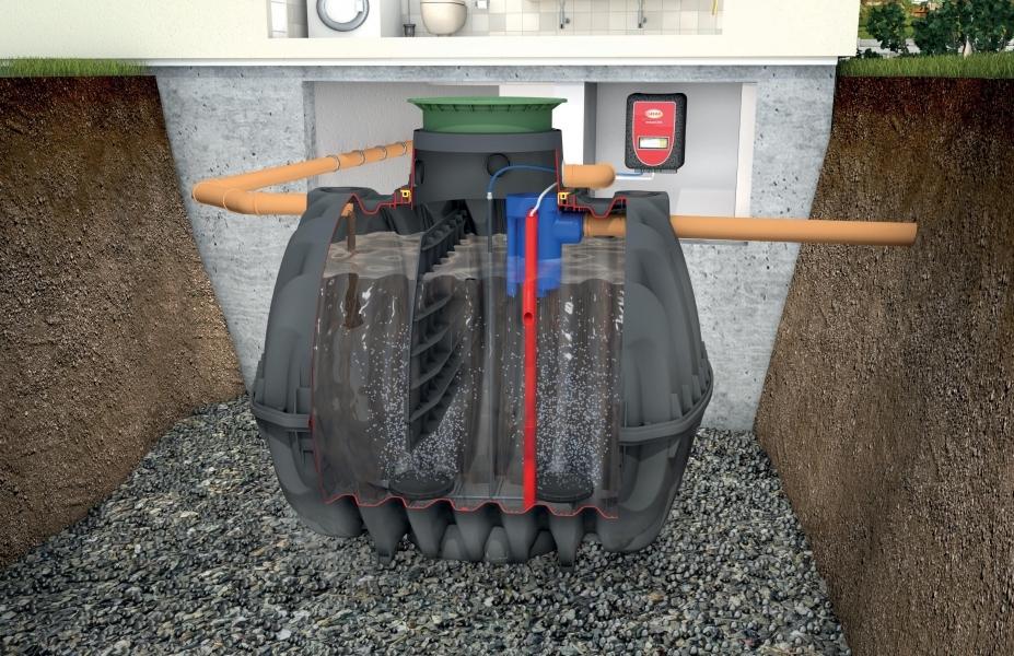 Photo 1 Solution compacte d'assainissement. Le système easyOne se compose d'une seule cuve à enterrer (jusqu'à 80 EH) ne contenant ni pièce électrique, ni pièce d'usure. L'armoire de pilotage livrée avec la cuve gère l'ensemble de l'installation. Simple à installer : pas de ventilation secondaire sur le toit. Fréquence de vidange réduite. Emprise au sol minime. Mise en service compris. Garantie : 30 ans sur la cuve. Agréments ministériels français. Des solutions de 2 à 200 EH. - GRAF