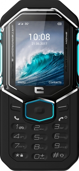 Photo 1 le seul Mobile à toucheau monde flottant, étanche IP68, résistant endurant, 3G+, Double SIM, extension de mémoire par carte Micro SD 32 GO, lampe torche, prise jack. Pack pro Housse supplémentaire. 5 mégapixels avec Flash. Garantie 2 ans. 3 fonctions de sécurité : sifflet 100 dB, signaux d'alertes lumineux et sonores et envoi de SMS SOS sur numéro programmé. - CROSSCALL