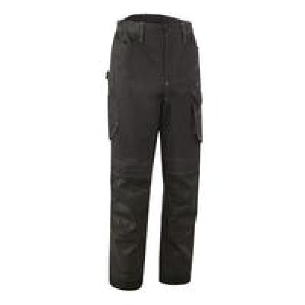 Photo 1 Pantalon BARVA, sergé 60% Coton-40% Polyester 270g/m², Anthracite-Lime Size L - COVERGUARD