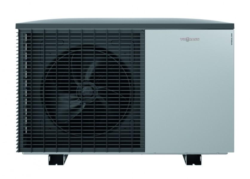Photo 2 Profitez d'un pompe à chaleur silencieuse à prix attrayant !   La Vitocal 222-S peut être utilisée comme système de chauffage pur ou pour le chauffage et le refroidissement.  Faibles coûts de fonctionnement grâce à un COP  atteignant 5,0 (air 7°C/eau 35°C). EtaS entre 126 & 138 selon puissance.  L'interface utilisateur graphique de la régulation Vitotronic 200 garantit une commande à distance facile et intuitive. Le grand écran est éclairé, contrasté et facile à lire. - Viessmann France