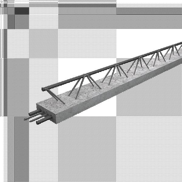 Photo 1 Les Poutrelles hybrides avec étais sont des poutrelles dernière génération, sous Avis Technique. Elles permettent la pose de planchers longues portées pour supporter des charges d'exploitations élevées et diminuer le nombre de files d'étais. 2 gammes : STH et ST2H. 1 hauteur : 12 cm. 67 longueurs : de 1.03 à 9.03 ml de 10 en 10 cm Fabrication française – OFG    Utilisation : maison individuelle, collectif, tertiaire et E.R.P. Utilisation : haut d'étage, garage et toiture-terrasse - Raid®