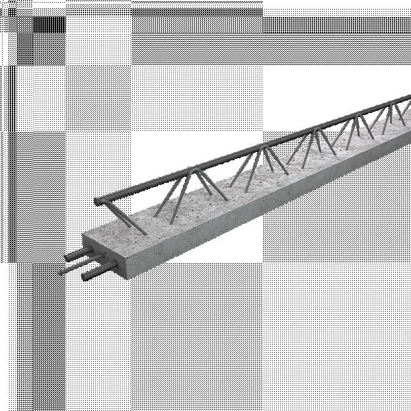 Photo 2 Les Poutrelles hybrides avec étais sont des poutrelles dernière génération, sous Avis Technique. Elles permettent la pose de planchers longues portées pour supporter des charges d'exploitations élevées et diminuer le nombre de files d'étais. 2 gammes : STH et ST2H. 1 hauteur : 12 cm. 67 longueurs : de 1.03 à 9.03 ml de 10 en 10 cm Fabrication française – OFG    Utilisation : maison individuelle, collectif, tertiaire et E.R.P. Utilisation : haut d'étage, garage et toiture-terrasse - Raid®