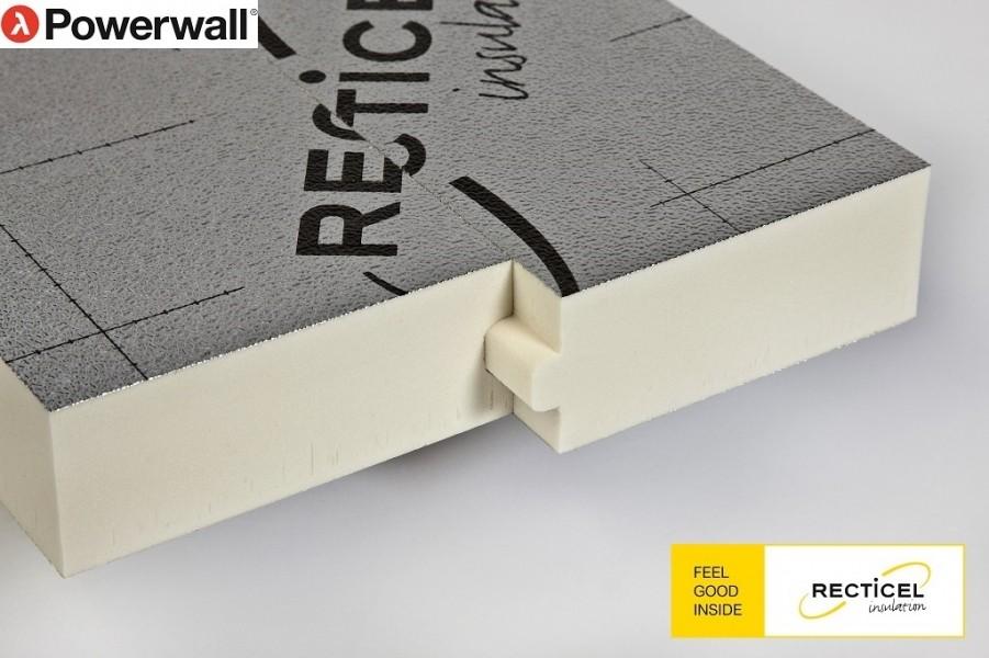 Photo 4 Les panneaux d'isolation Powerwall® de Recticel offrent un bouclier isolant durable. Destinés à l'isolation thermique par l'extérieur des murs, ils peuvent être combinés avec une vaste gamme de finitions de façades en bardage, vêtage et vêture. Installés rapidement, ils conviennent aux nouvelles constructions et aux rénovations tout en garantissant des performances thermiques exceptionnelles. - RECTICEL