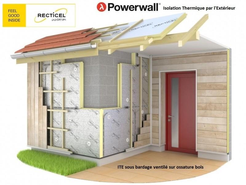 Photo 1 Les panneaux d'isolation Powerwall® de Recticel offrent un bouclier isolant durable. Destinés à l'isolation thermique par l'extérieur des murs, ils peuvent être combinés avec une vaste gamme de finitions de façades en bardage, vêtage et vêture. Installés rapidement, ils conviennent aux nouvelles constructions et aux rénovations tout en garantissant des performances thermiques exceptionnelles. - RECTICEL