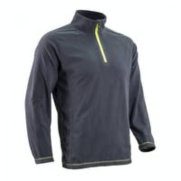 Photo 3 Pull micro-polaire MYOGA anthracite, 100% Polyester, 150g/m² S.L - COVERGUARD