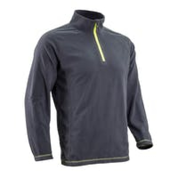 Photo 1 Pull micro-polaire MYOGA anthracite, 100% Polyester, 150g/m² S.L - COVERGUARD