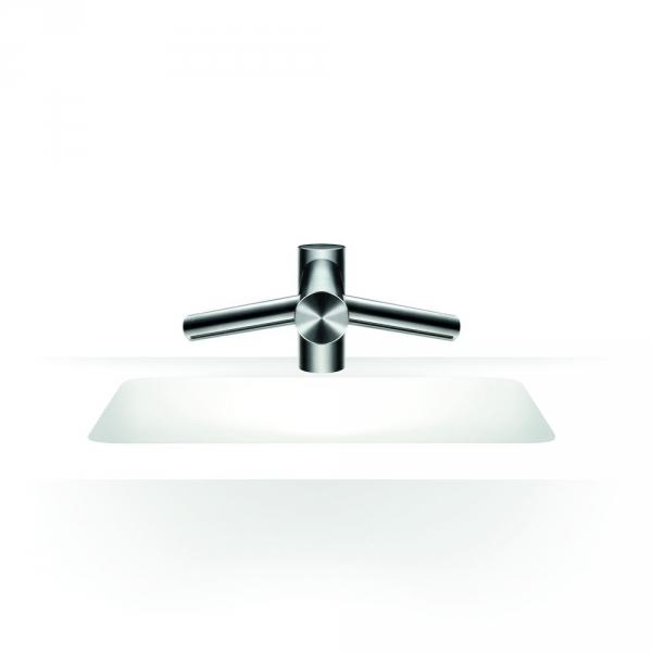 Photo 2 La technologie de séchage des mains Airblade™ dans un robinet. Temps de séchage de 14 secondes. Pas d'eau sur le sol. Un filtre HEPA capture 99,9 % des particules de la taille d'une bactérie. 5 ans de garantie. - DYSON