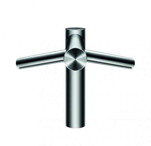 Photo 1 La technologie de séchage des mains Airblade™ dans un robinet. Temps de séchage de 14 secondes. Pas d'eau sur le sol. Un filtre HEPA capture 99,9 % des particules de la taille d'une bactérie. 5 ans de garantie. - DYSON