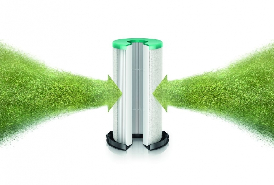Photo 3 Le sèche-mains à filtre HEPA le plus efficace et économique Faible consommation : seulement 9kJ par séchage (mode eco). Un filtre HEPA capture 99,9% des particules de la taille d'une bactérie. Technologie d'arrêt rapide. Détecte les mains en 0,2 sec. Technologie Curved Blade™ qui épouse la forme des mains. Format compact. Pas d'encastrement nécessaire. Faible empreinte carbone : 2,5g de CO2/séchage (mode Eco) 5 ans de garantie - DYSON