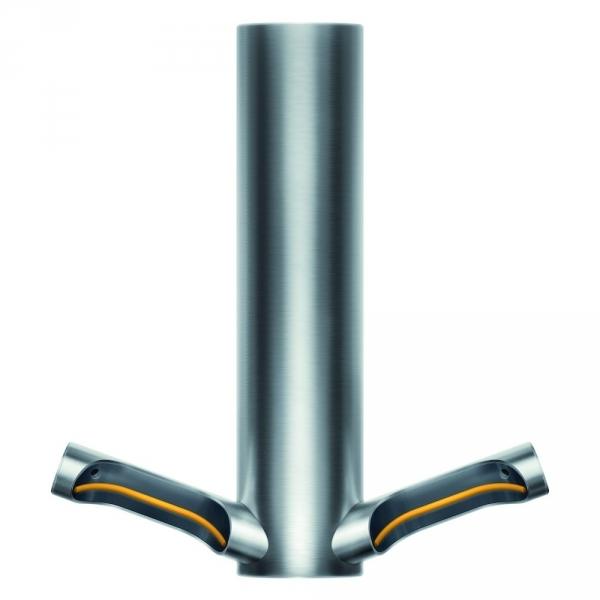 Photo 1 Le sèche-mains à filtre HEPA le plus efficace et économique Faible consommation : seulement 9kJ par séchage (mode eco). Un filtre HEPA capture 99,9% des particules de la taille d'une bactérie. Technologie d'arrêt rapide. Détecte les mains en 0,2 sec. Technologie Curved Blade™ qui épouse la forme des mains. Format compact. Pas d'encastrement nécessaire. Faible empreinte carbone : 2,5g de CO2/séchage (mode Eco) 5 ans de garantie - DYSON