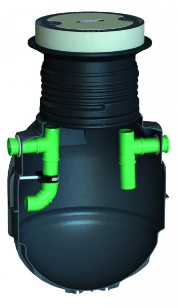 Photo 2 Solution de prétraitement empêchant les graisses de rejoindre les égouts (TN 1 à 15 L/s). La séparation des graisses à l'intérieur de l'installation se fait par flottaison naturelle grâce à la différence de densité des liquides. Les eaux, libérées des graisses, se dirigent alors vers la canalisation de sortie. Ce dispositif ne concerne pas les eaux vannes qui doivent rejoindre directement la station d'épuration. Garantie 20 ans. Accessoires disponibles (rehausse ajustable, alarme...) - GRAF