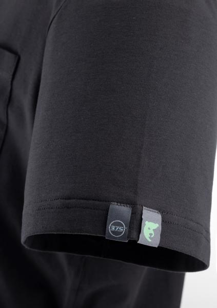 Photo 2 T-shirt manches courtes - JAGA - CO/PES recyclé 37.5®/EA 165g/m² - Noir, L - COVERGUARD