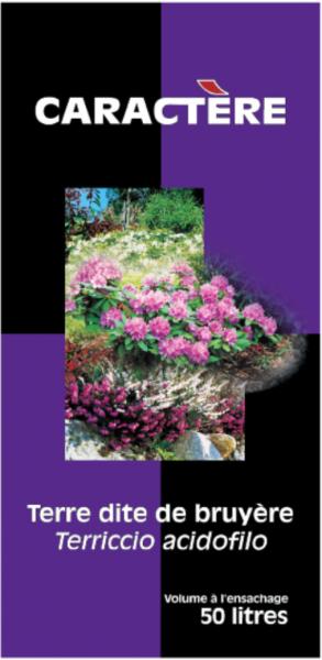 Photo 1 Support de culture adapté pour toutes les plantes acidophiles. Peut s'employer en bacs, jardinières ou pleine terre. Avec caractère, vous bénéficiez d'un savoir-faire de professionnels. C'est une garantie de réussite pour vos clients. - Caractère
