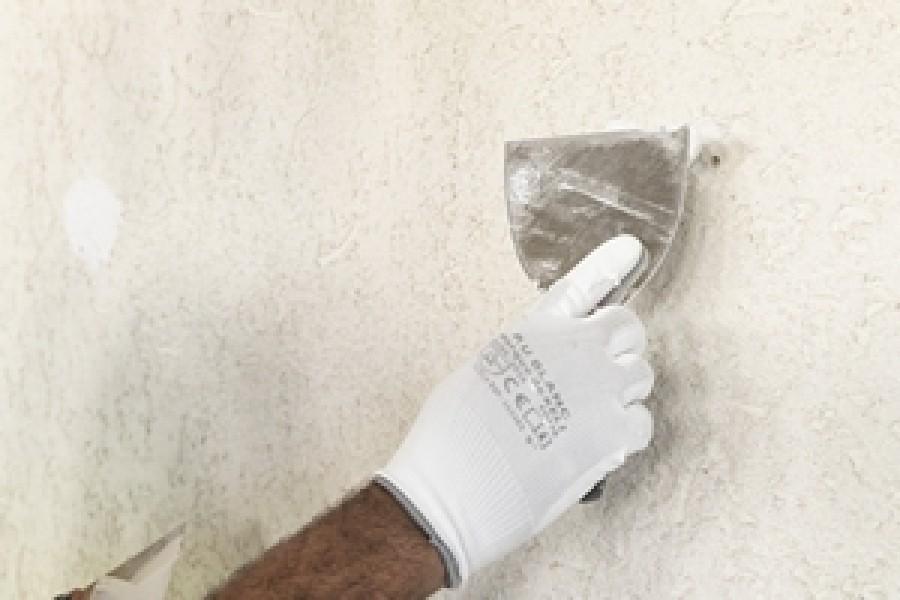 Photo 2 Avec une mise en peinture après 3 heures, le TX110 est un enduit de rebouchage reconnu et très apprécié sur les chantiers. Cet enduit permet de reboucher tout type de trous ou fissures sans limite d'épaisseur.  Riche en résine, cet enduit vous assure une grande dureté avec une excellente adhérence et un très bon confort d'application. - Toupret