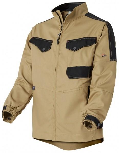 Photo 3 Une veste de travail résistante pour s'adapter à toutes les situations : une valeur sûre pour tous les professionnels. De nombreuses poches fonctionnelles pour ranger smartphone et outils.  Disponible en Beige/Noir et Gris charcoal/Noir - Molinel