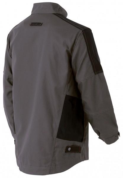 Photo 2 Une veste de travail résistante pour s'adapter à toutes les situations : une valeur sûre pour tous les professionnels. De nombreuses poches fonctionnelles pour ranger smartphone et outils.  Disponible en Beige/Noir et Gris charcoal/Noir - Molinel