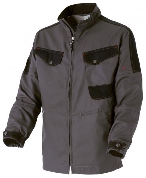 Photo 1 Une veste de travail résistante pour s'adapter à toutes les situations : une valeur sûre pour tous les professionnels. De nombreuses poches fonctionnelles pour ranger smartphone et outils.  Disponible en Beige/Noir et Gris charcoal/Noir - Molinel
