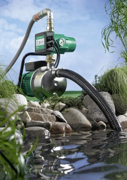 Photo 3 Installation de distribution d'eau domestique auto-amorçante. - WILO