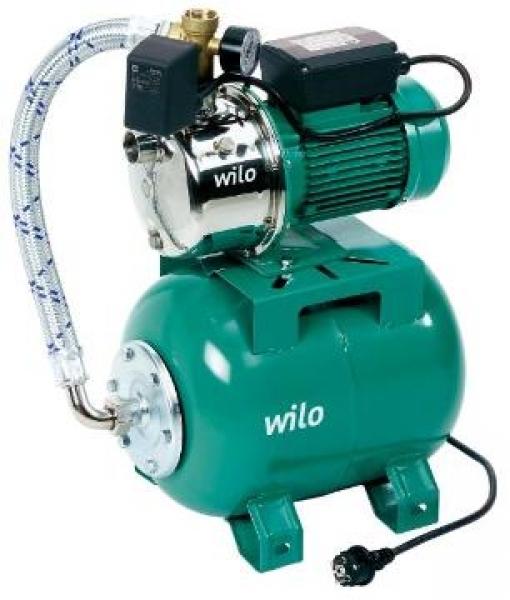 Photo 1 Installation de distribution d'eau domestique auto-amorçante. - WILO