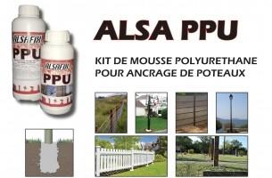 Bizidil ALSAFIX-ALSA PPU - KIT DE MOUSSE PU POUR ANCRAGE DE POTEAU